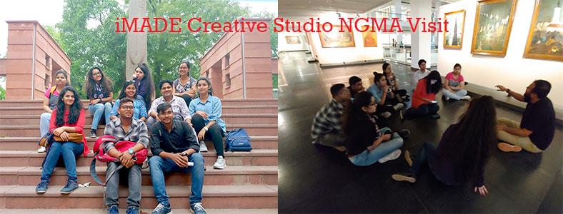 NGMA Visit, national gallery of modern art visit, art trip, art sketching, art classes