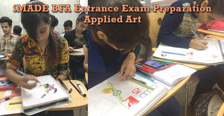 bfa, bfa preparation, bfa entrance exam, bfa entrance exam preparation applied art, fine art entrance exam preparation applied art