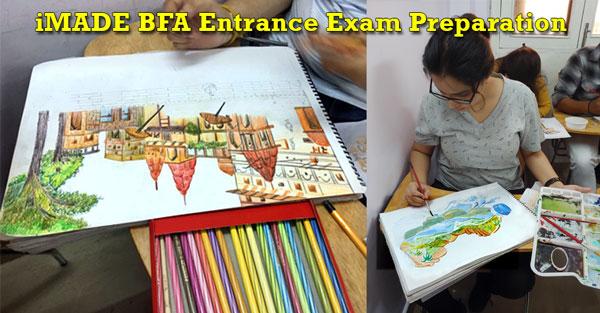 bfa, Bfa entrance exam preparation, bfa preparation, bachelors of fine arts