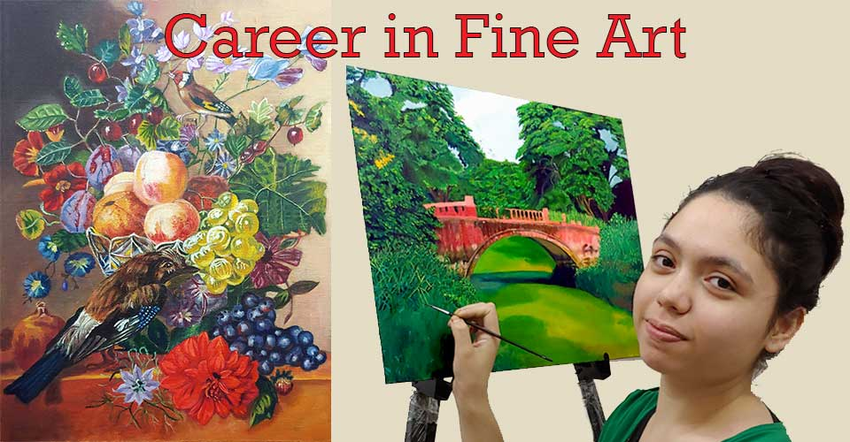 career in fine art, art career, career in art, career in fine art in India, artist career in India
